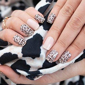 2/25 NEW Color Street Trend Spotted Leopard Print